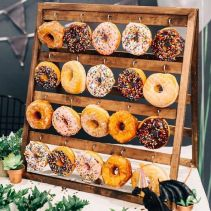 Fall donuts display